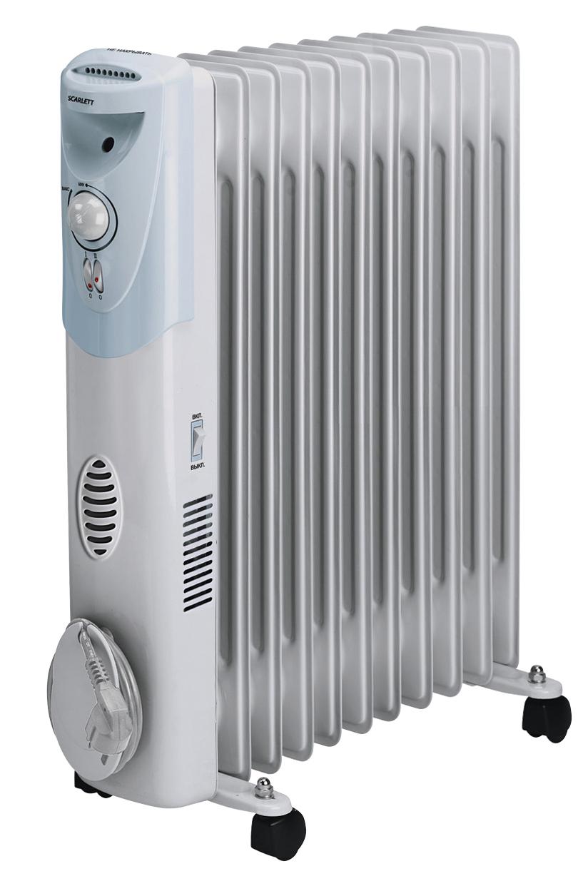 Масляный радиатор scarlett sc 052